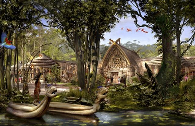 [Shanghai Disneyland] ADVENTURE ISLE (Soaring.../Roaring Rapids/Camp Discovery/Tarzan) 172439sd12