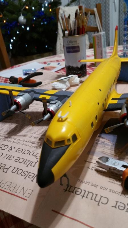 DOUGLAS DC-6B SECURITE CIVILE maquette HELLER au 1/72° - Page 2 17349620171216191726