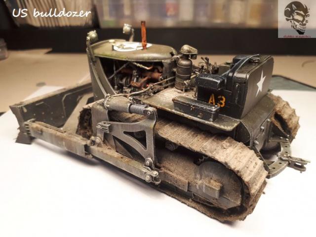 US Army bulldozer (Miniart 1/35) 17379520170622142233