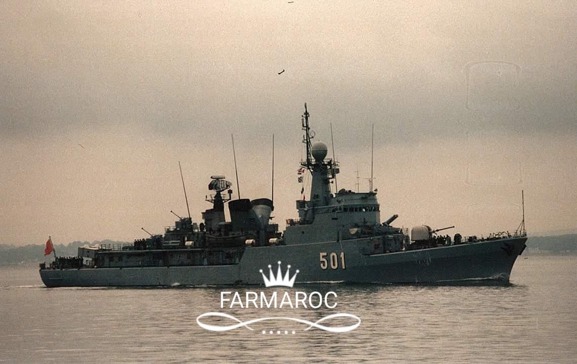 Royal Moroccan Navy Descubierta Frigate / Patrouilleur Océanique Lt Cl Errahmani - Bâtiment École - Page 3 17430920180108084334