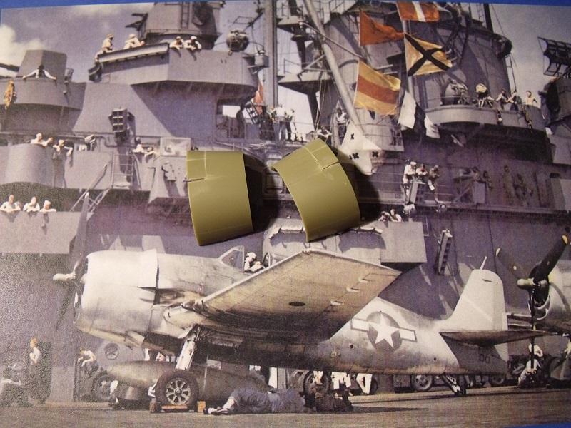 Grumman F6F-5 Hellcat - Eduard - 1/72 174890GrummanF6FHellcat015