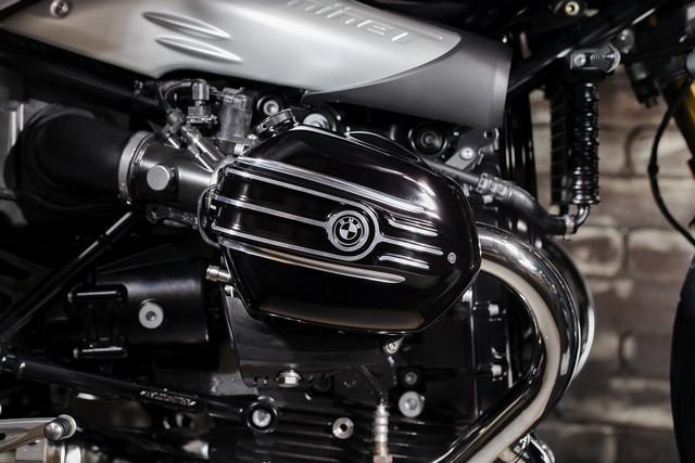 BMW Motorrad : accessoires « Machined » pour les BMW R NineT. 175282P90245874highResbmwrninetxroland