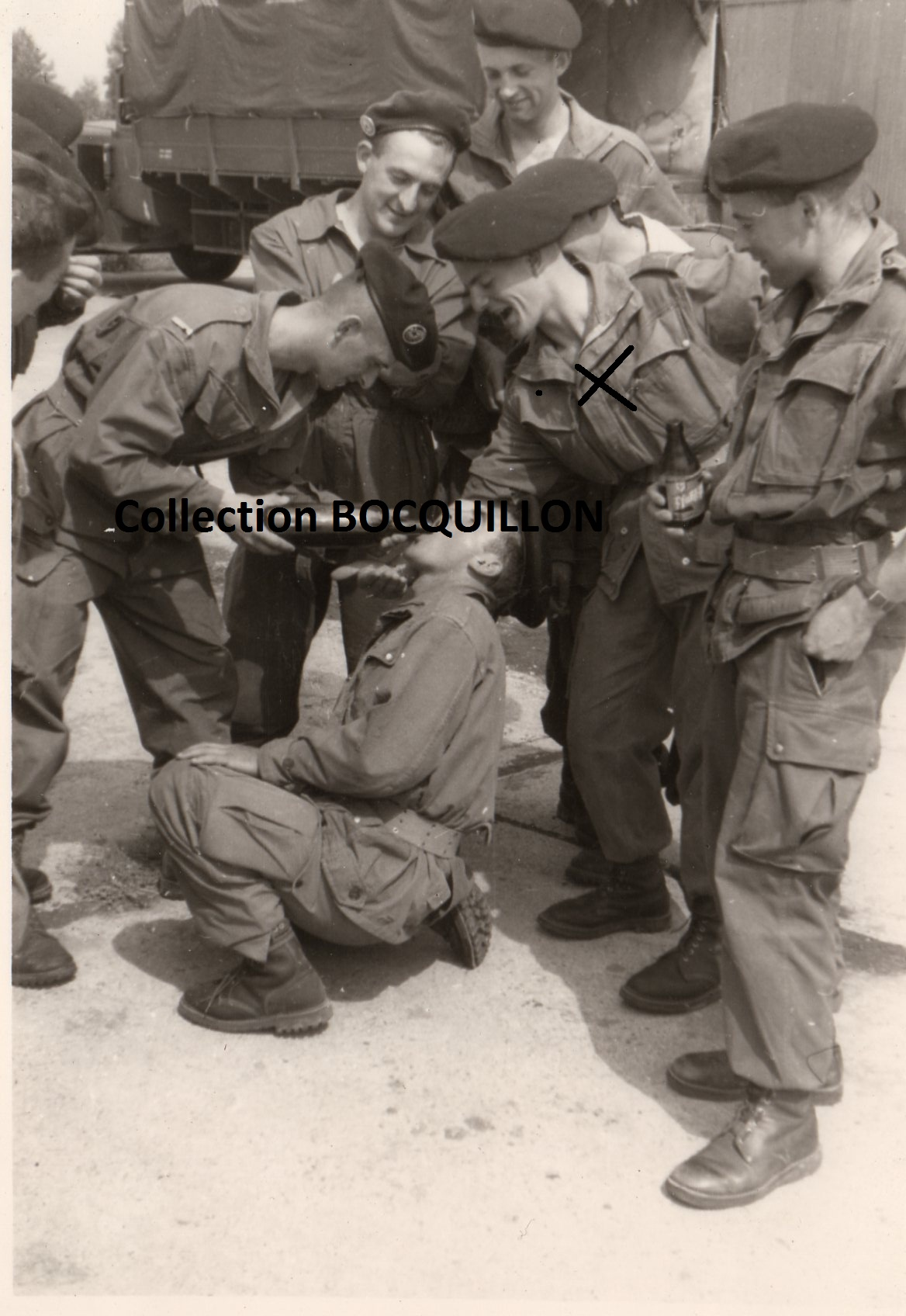 """Sous-lieutenant Yves ALLEMANE Promotion """"AMILAKVARI"""" 18è RCP AFN 17562212BETAPPau19552"""