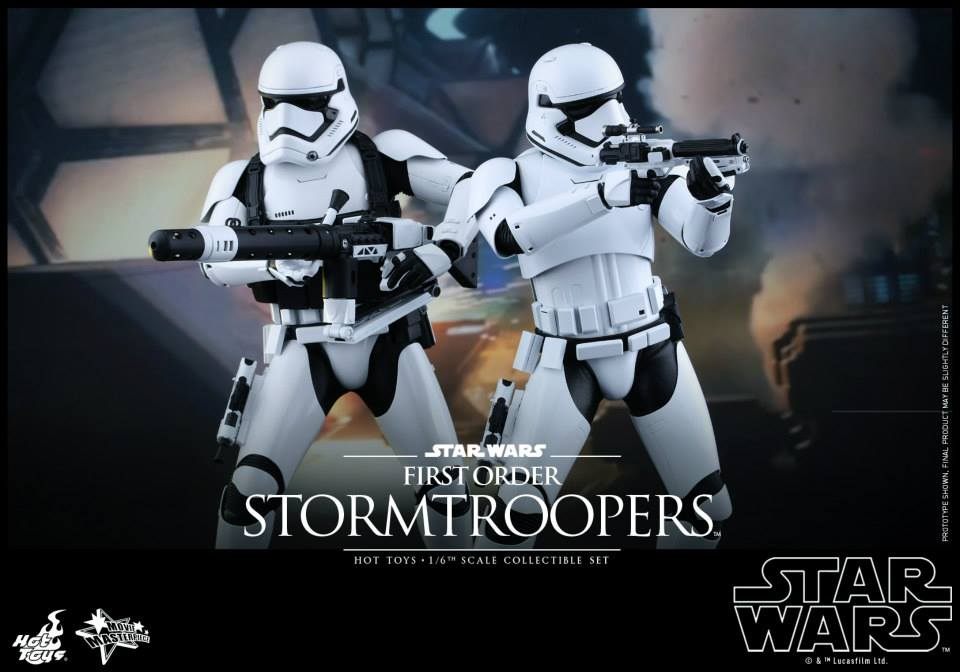 HOT TOYS - Star Wars: TFA -  First Order Stormtroopers 176096101