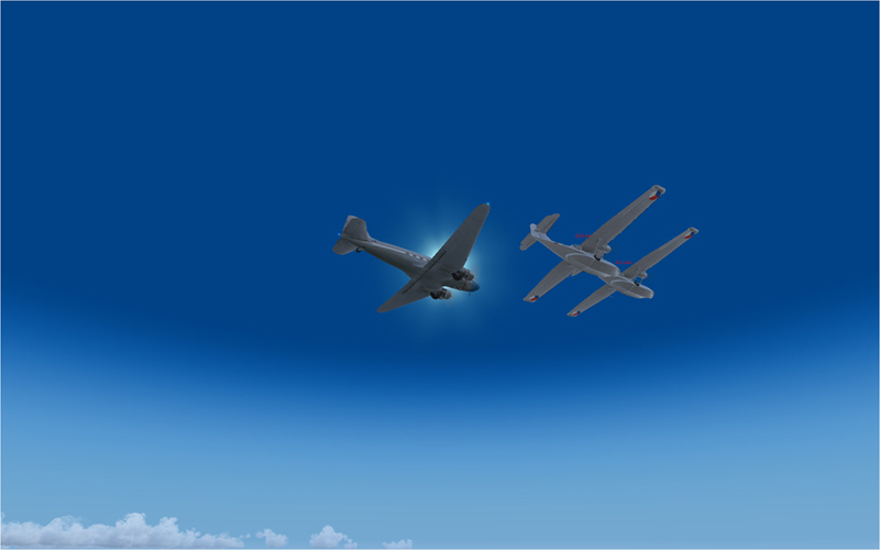 Vol en formation en Afrique (DC3) 1778762013222222753817