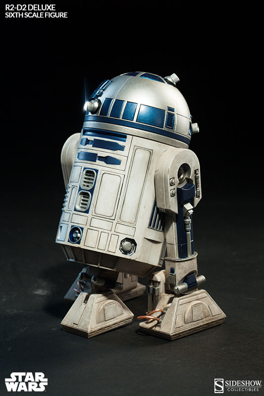 Sideshow - R2-D2 Deluxe Sixth Squale Figure 1781022172r2d2deluxe006
