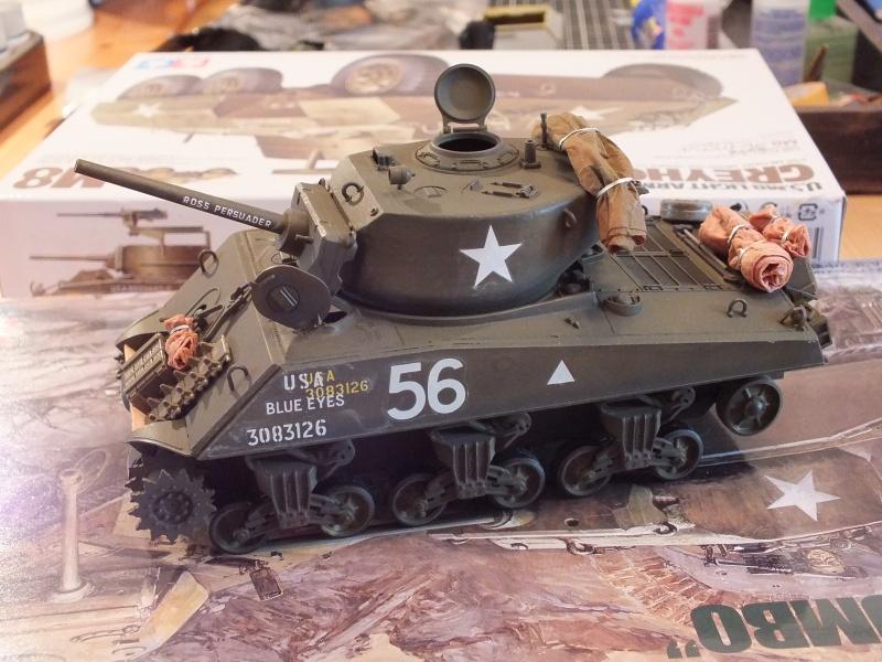 Sherman A3E2  Tamiya 1/35 et canon alu Rb models.  (Patine en cours) - Page 2 178485DSCF7225
