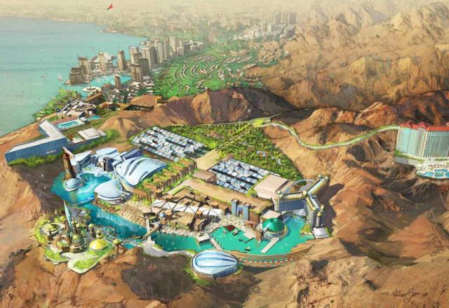 (Jordanie) The Red Sea Astrarium incluant parc d'attractions Paramount (2017) 181334TRSA