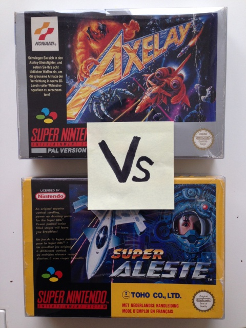 Super Aleste SNES Vs Axelay SNES: Fight !!!! 181346IMG1703
