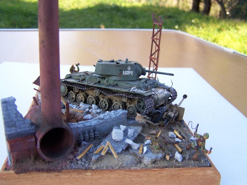 """Duel""  KV1c vs Panzergrenadiere Russie 42 1821301005504"