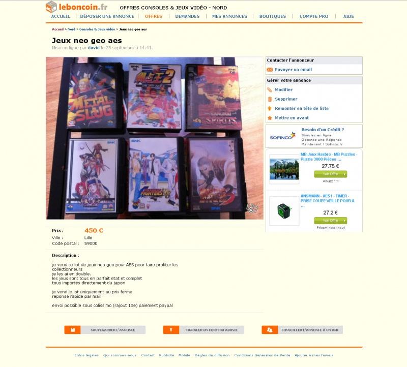 Les annonces de ventes qui nous font marrer ! - Page 5 182832Snap5