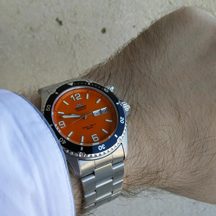 Votre montre du jour - Page 4 183044OrangeMako