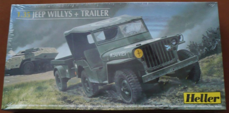 jeep indochine - Jeep Willys +Trailer Heller 1/35 183139JeepHeller135001