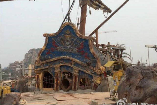 [Shanghai Disneyland] TREASURE COVE (POTC:...Sunken Treasure/Captain Jack's Stunt) - Page 5 183695w96