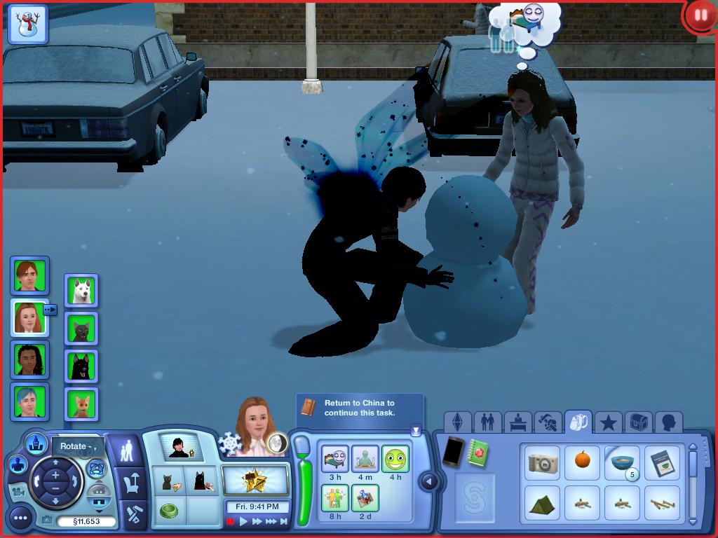 Les Sims ... Avec Kimy ! 184054kimyetkandrayfontdesbonhommesdeneigeensemble