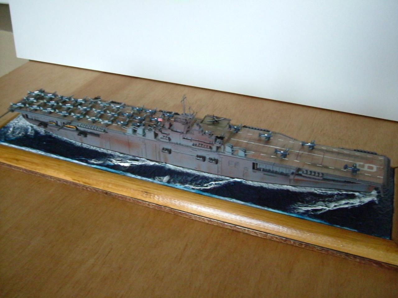 CV-9 USS ESSEX par Kagou 1/700 - Hasegawa + photodec 184116EssexCV93