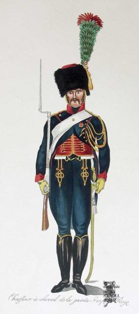 Les chasseurs à cheval de la Garde 184338ico2079