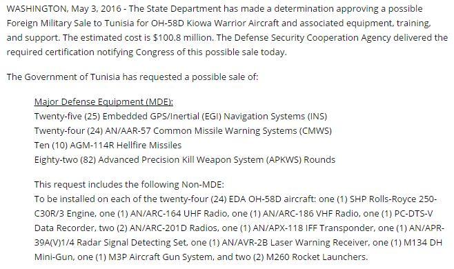 صفقة 24 مروحيةOH-58D Kiowa Warrior لتونس 184590321