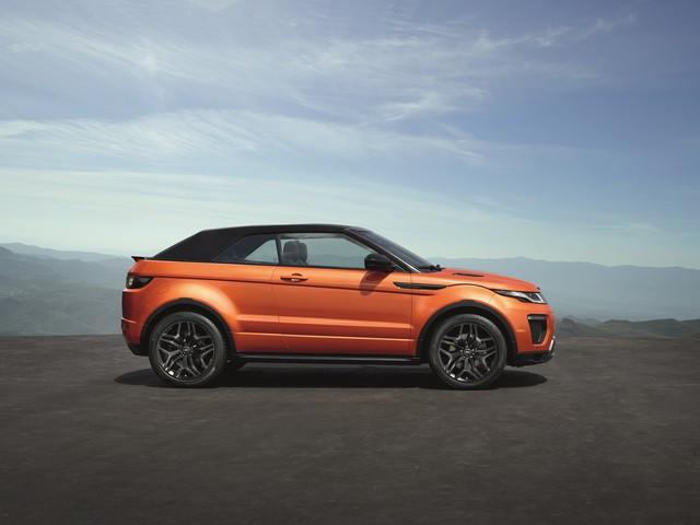 Range Rover Cabriolet, Un SUV Pour Toutes Les Saisons 185596RREVQConvertibleStatic09111507