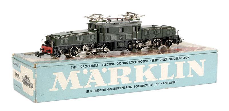 Coffret du centenaire de la traction électrique des C.F. suédois 185619Marklin3015