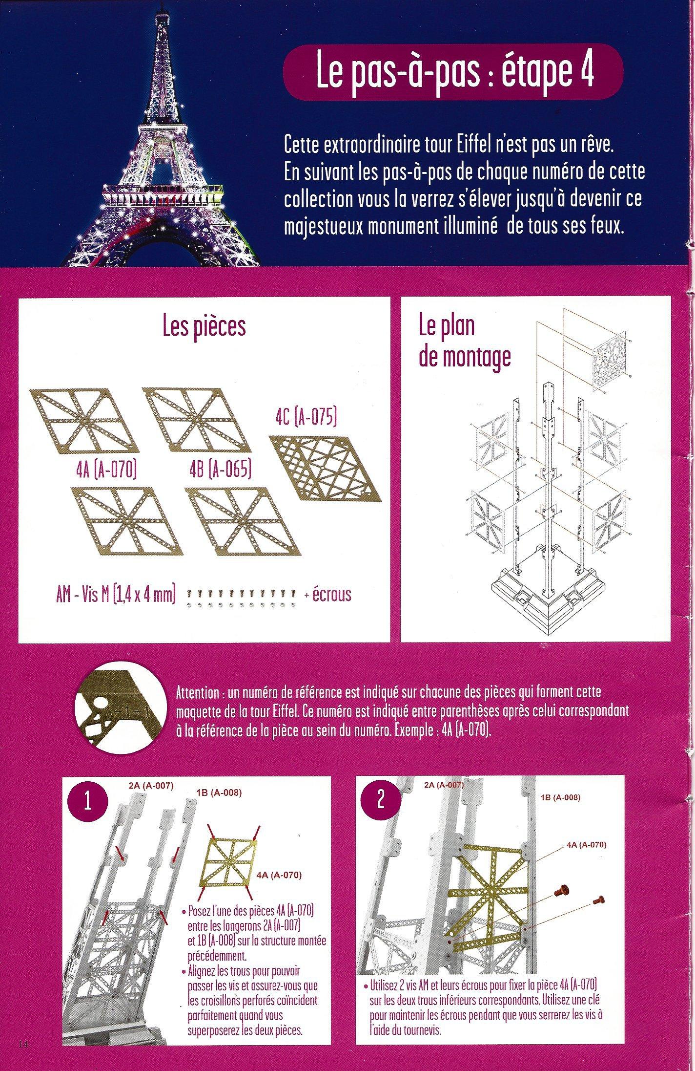 Numéro 4 - Je construis la Tour Eiffel - La tour Eiffel et la mode 18565604b