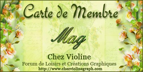 Carte de membre 185839Mag