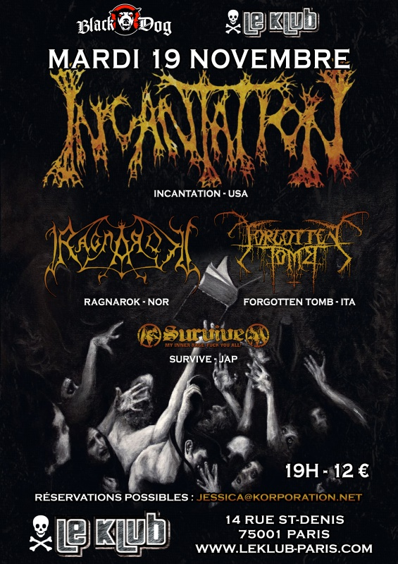 19.11 - Incantation + Ragnarock + .. @ Paris 186207incantation