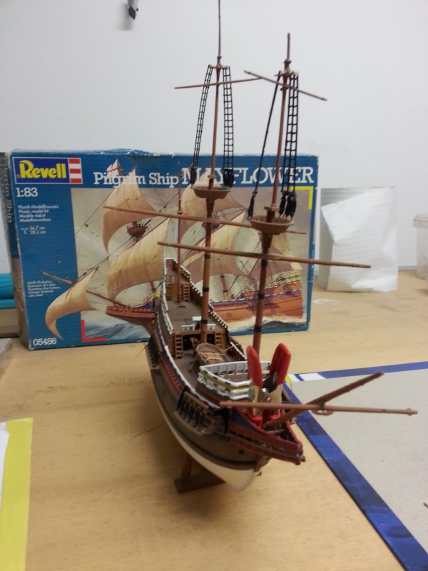 le Mayflower de Revell au 1:83  - Page 3 19091620151027172603