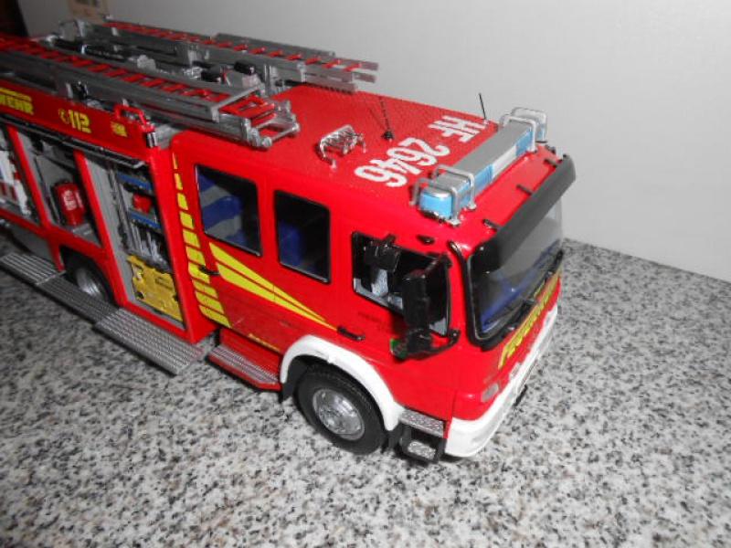 Camion de pompiers atelier de revell au 1/24° 191620pompier020