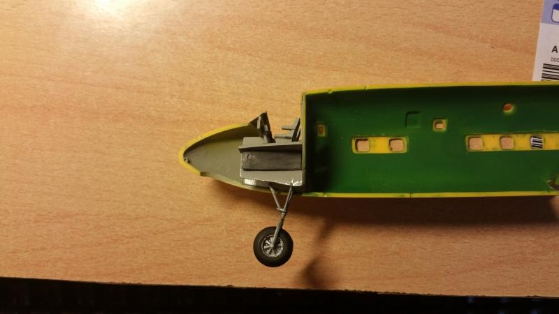 DOUGLAS DC-6B SECURITE CIVILE maquette HELLER au 1/72° 19414020171204175659