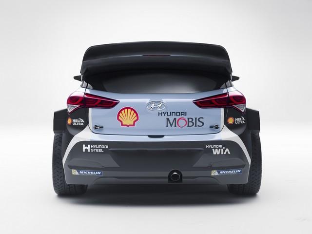 Hyundai Motorsport présente la nouvelle i20 WRC et son team 194419MRNewGeni20wrcback