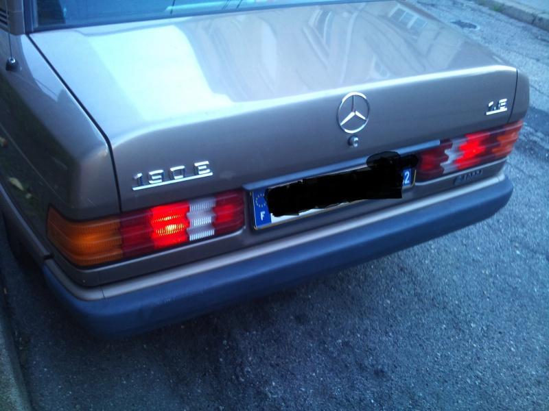 Mercedes 190 1.8 BVA, mon nouveau dailly - Page 9 195762DSC2537