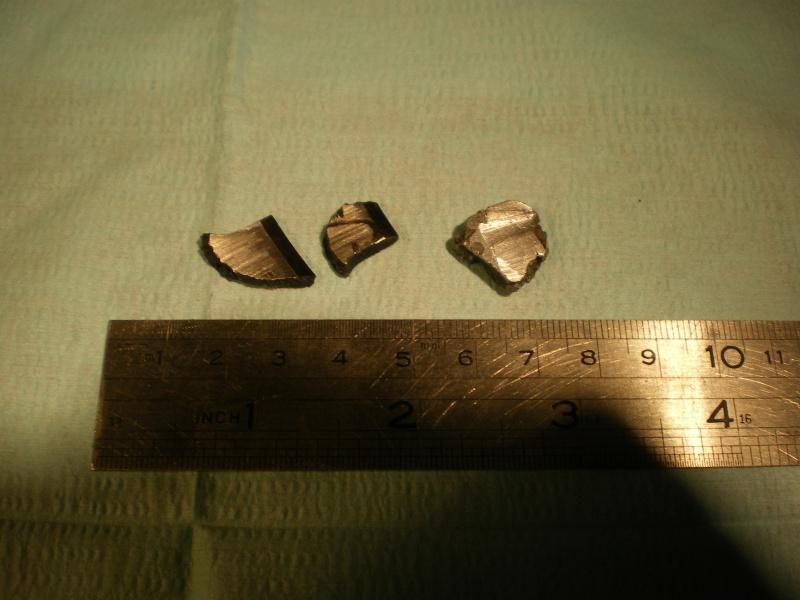 Débris dans dans pompe à huile C11 195786IMGP1379