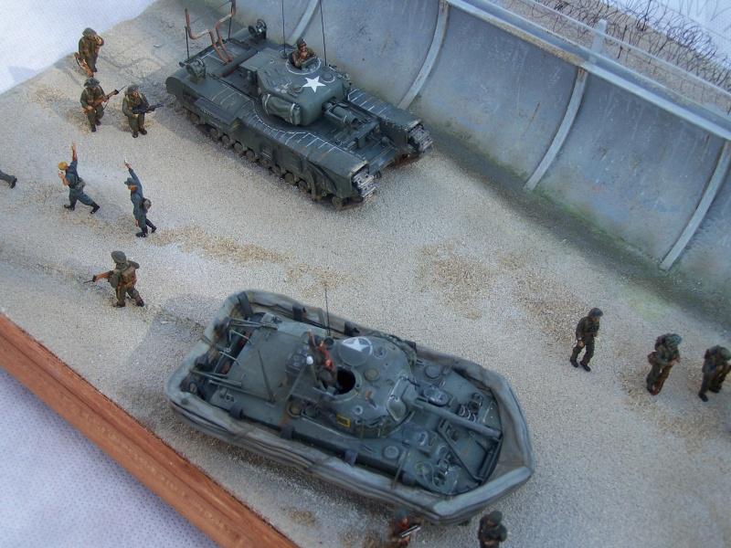 """Juno Beach"" 06.06.1944 Le Fort Garry Horse débarque... 1958631007502"