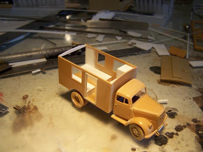 Opel Blitz Ambulance Normandie été 1944 1962781005846