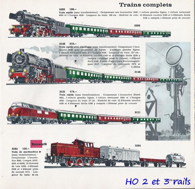 Coffrets Märklin 1936 - 1968 (rouges, noirs, verts ou bleus) 196305Marklincatalogue19642R