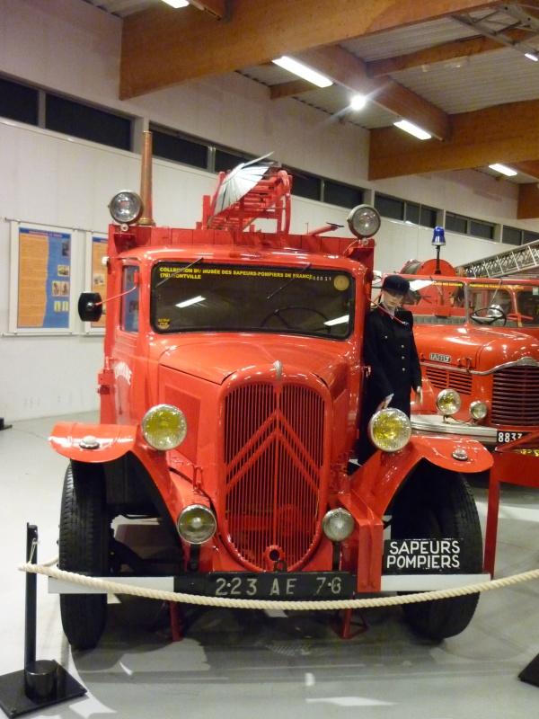 Le musée des Sapeurs Pompiers de Montville 196488AGLICORNEROUEN2011039
