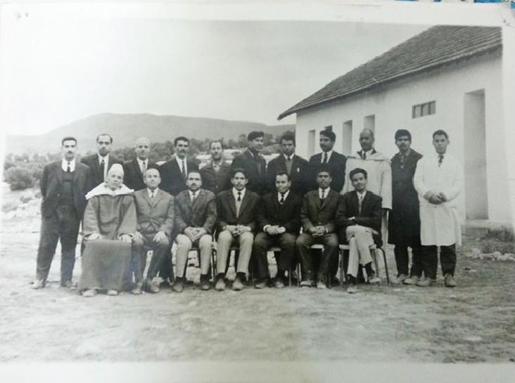 أساتذة مدرسة الزواقين في منتصف الستينيات 196583160515831585158715771
