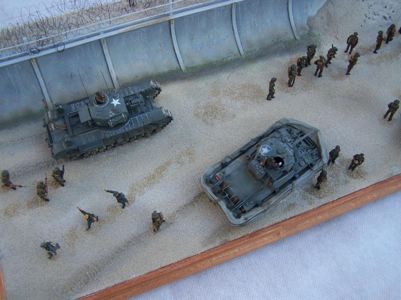 """Juno Beach"" 06.06.1944 Le Fort Garry Horse débarque.... 1981141007500"