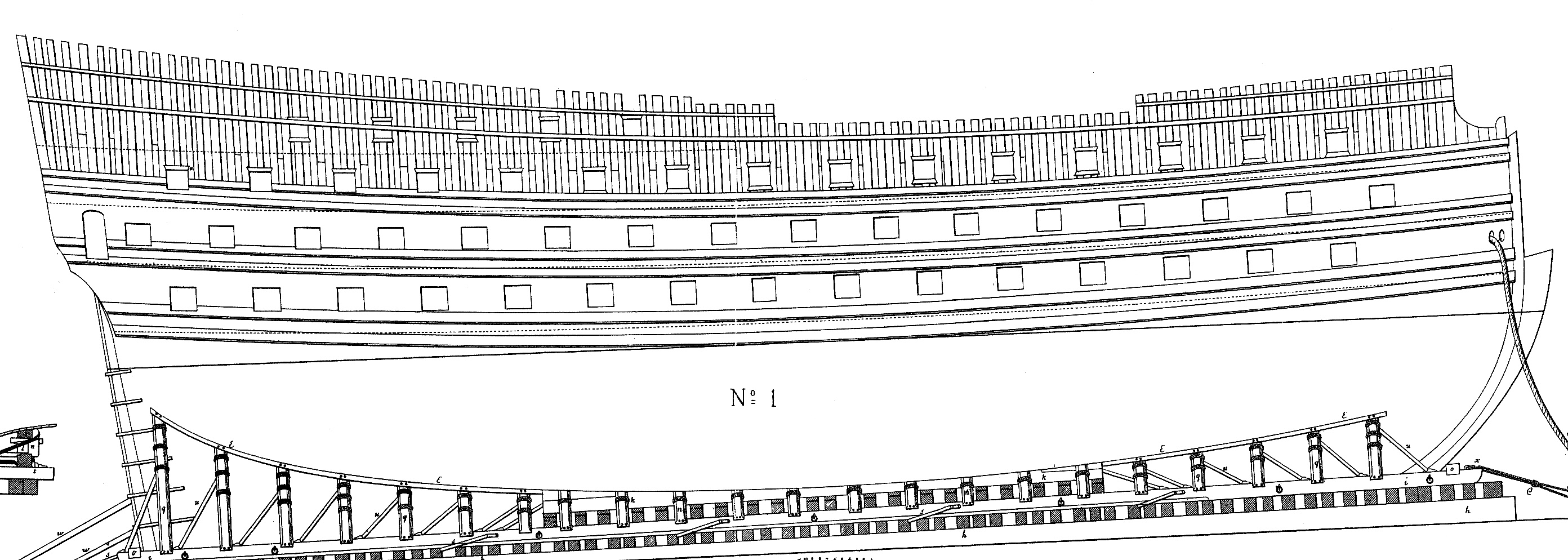 Carnet de bord du Sovereign of the Seas  - Page 4 198175TroispontsChapman