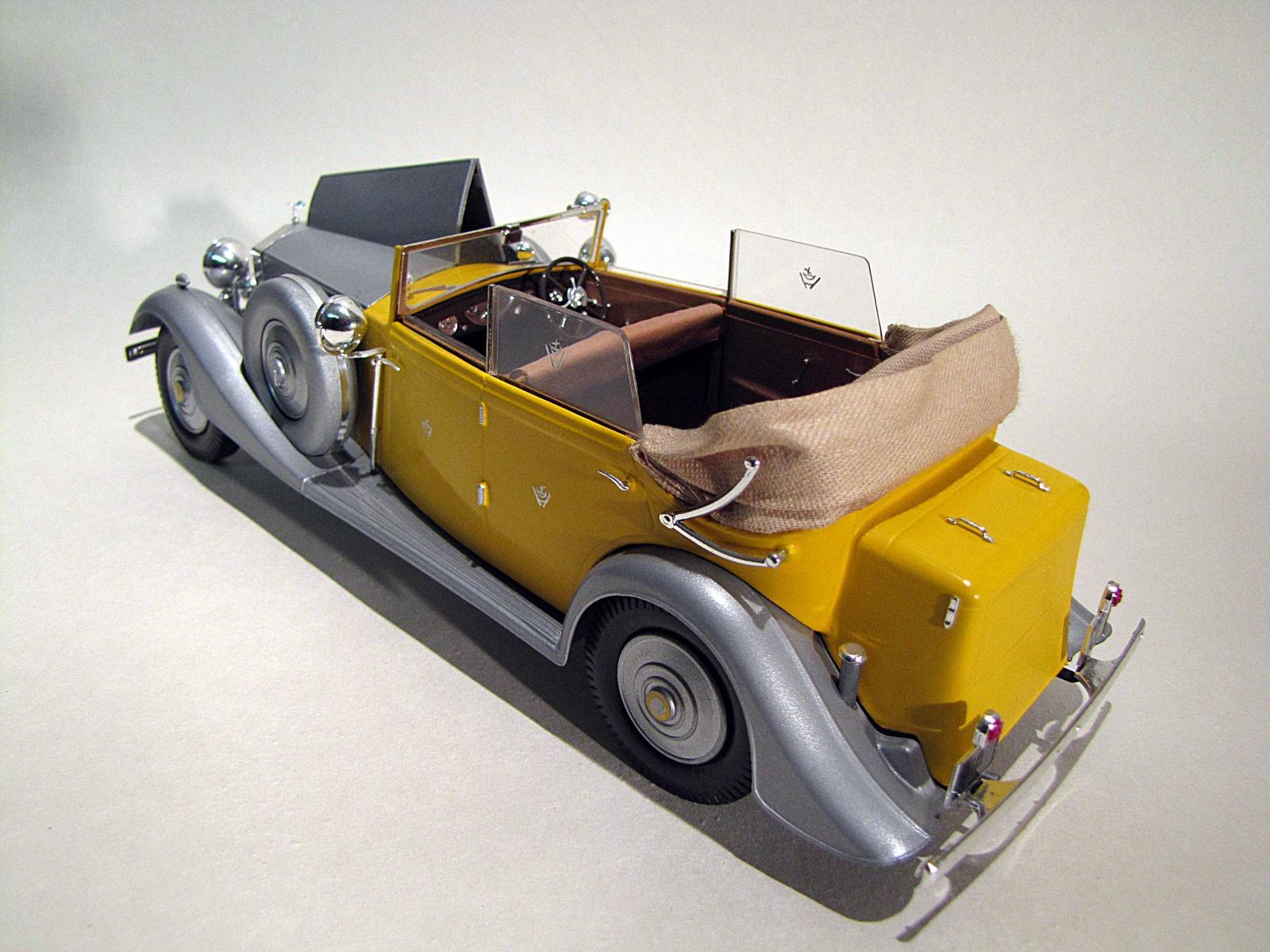 """Rolls Royce phantom II 1934 POCHER 1/8 """"Star of India 198594114a"""