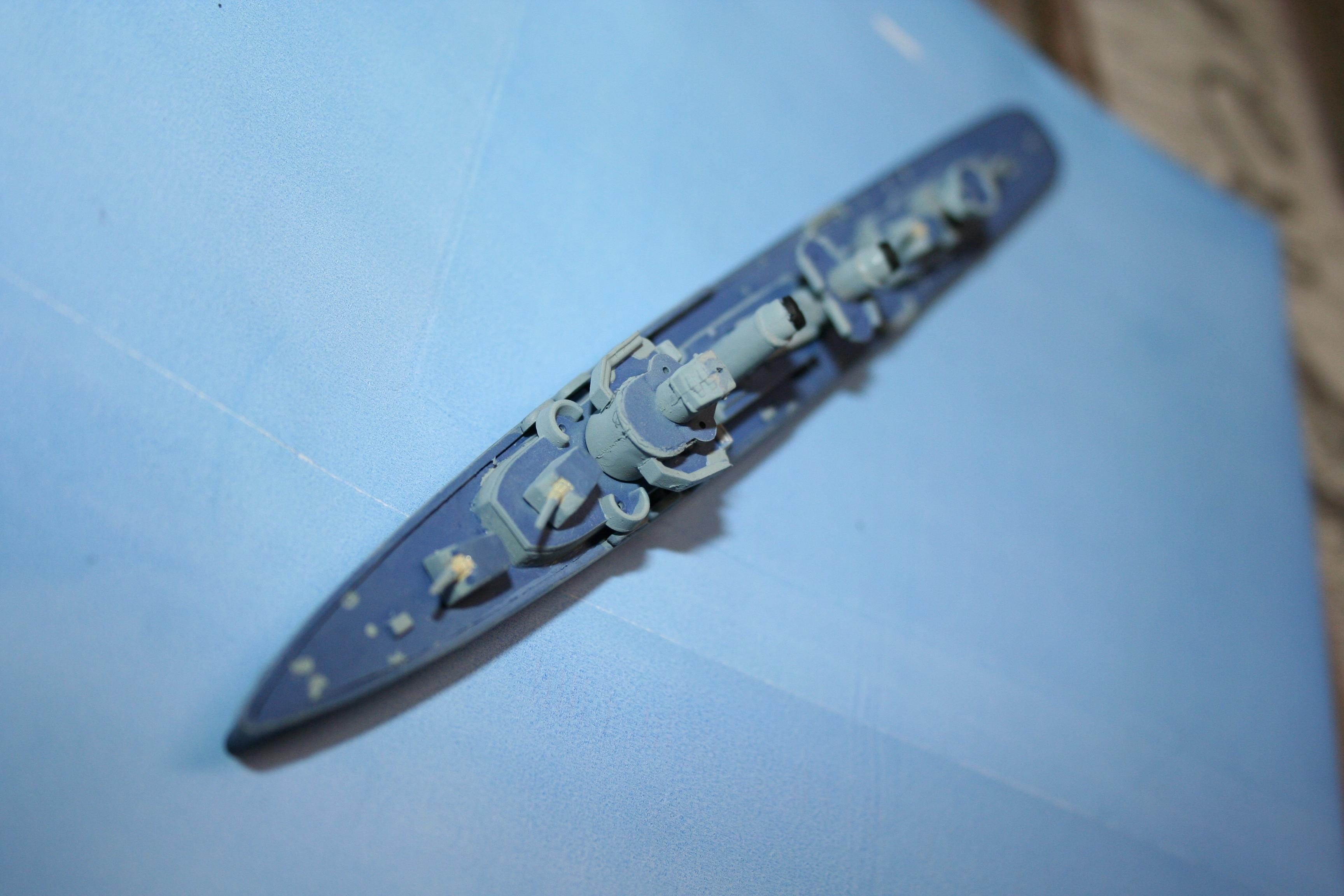 """USS Fletcher """"Revell"""" 1/700 200178IMG3648"""