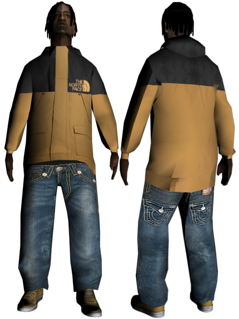 [REL] Pack Skin Afro 201155thenorthface