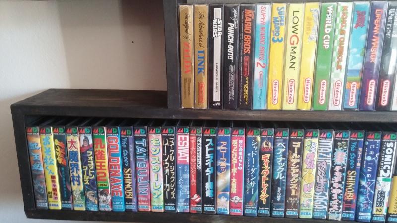 ajout de ma collection Neo Geo AES en vitrine :) 202145CAM00995