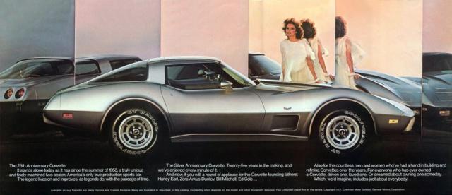 chevrolet corvette 25 th anniversary de 1978 au 1/16 - Page 2 202238brochurecorvette1978