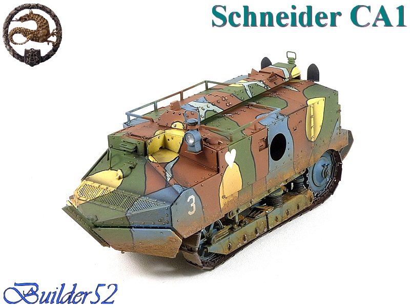CHAR SCHNEIDER CA 1 - HOBBY BOSS 1/35 202913P1040964