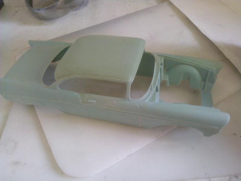 #47 : Chevy bel air 56 custom (TERMINEE) 2031684