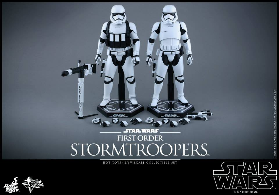 HOT TOYS - Star Wars: TFA -  First Order Stormtroopers 204116103