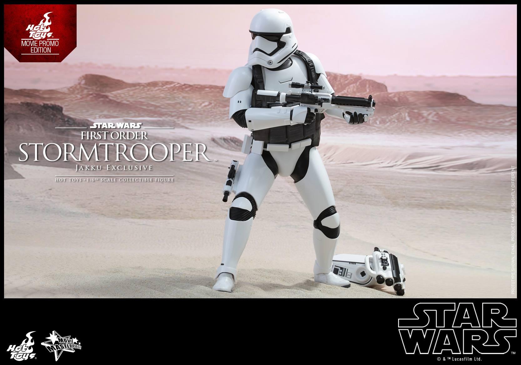HOT TOYS - Star Wars: TFA - First Order Stormtrooper Jakku  204998101