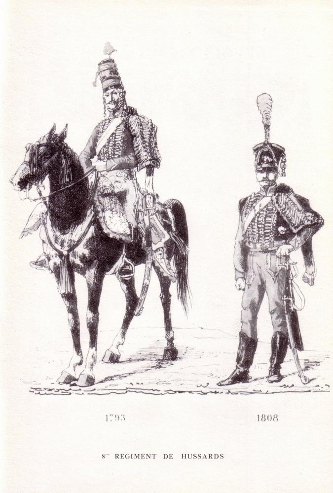 L'épopée Napoléonienne du 8 ème Régiment de Hussards  205127Historique8RHN05